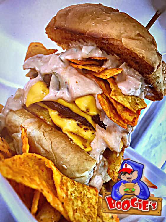 Boogie de Dongo Burger in Suriname