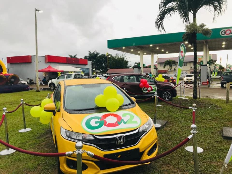 Gow2 win auto actie Suriname