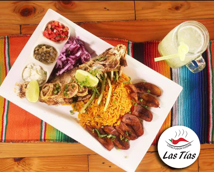 Las Tias Restaurant - Vis_Menu in Suriname