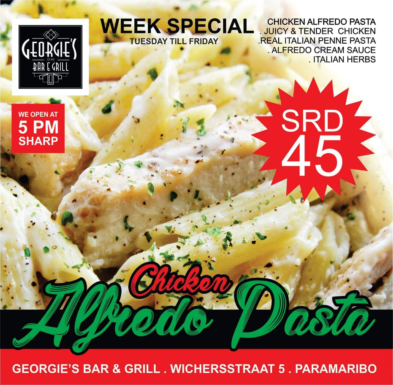 Georgie's Bar & Grill & Pasta Suriname