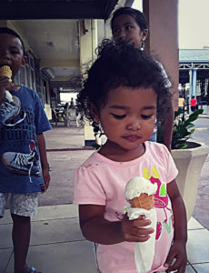 Padre Nostro ICE cream in Suriname