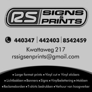 RS Signs & Prints Suriname