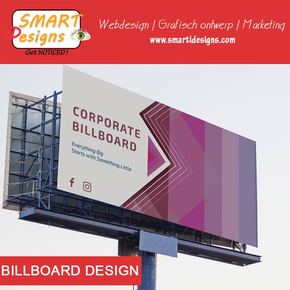 Billboard Design by SMART iDesigns in Suriname