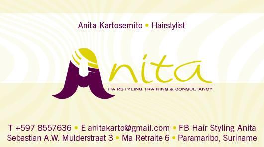 Hairstyling Anita in Suriname
