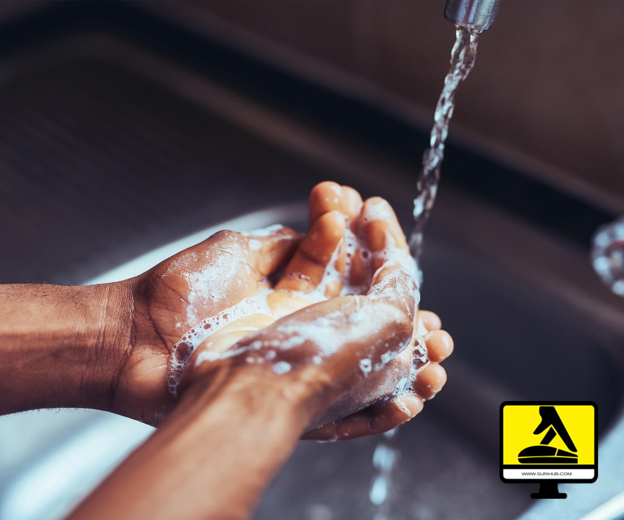 Handen Wassen preventie CoronaVirus
