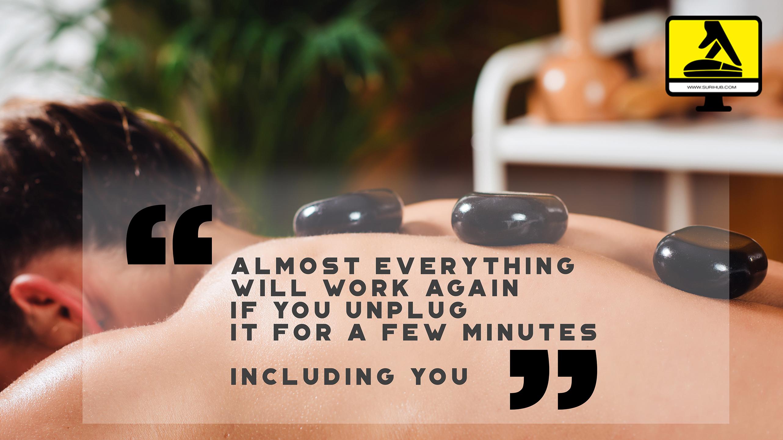 Hot Stone Massage ME-TIME