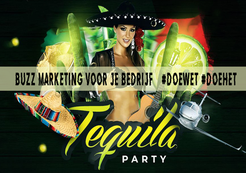 Tequila Party Doewet Marketing